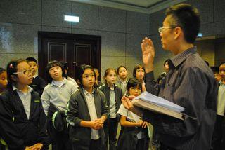 Earl teaching